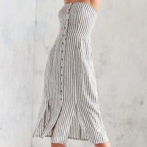 New 🌟 UO striped midi dress